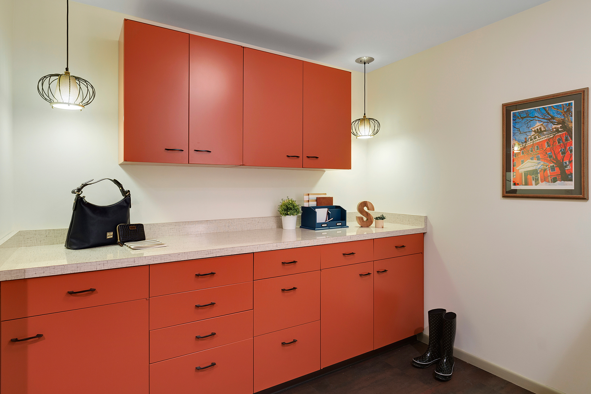 Mid-Century Kitchen/Mudroom Transformation