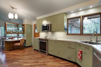 Mid-Century Kitchen/Mudroom Transformation
