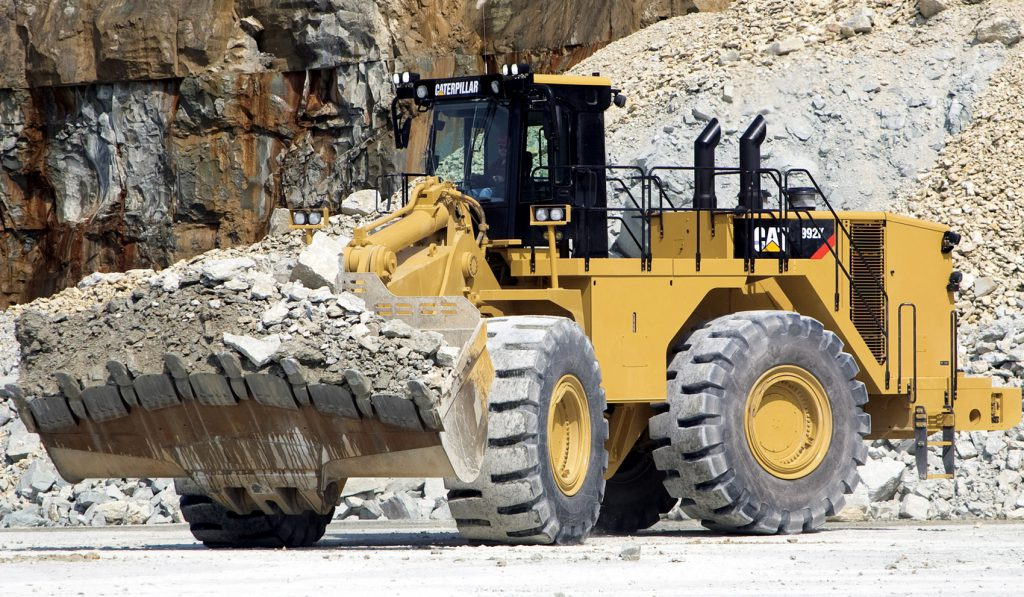 CAT 992 Wheel Loader