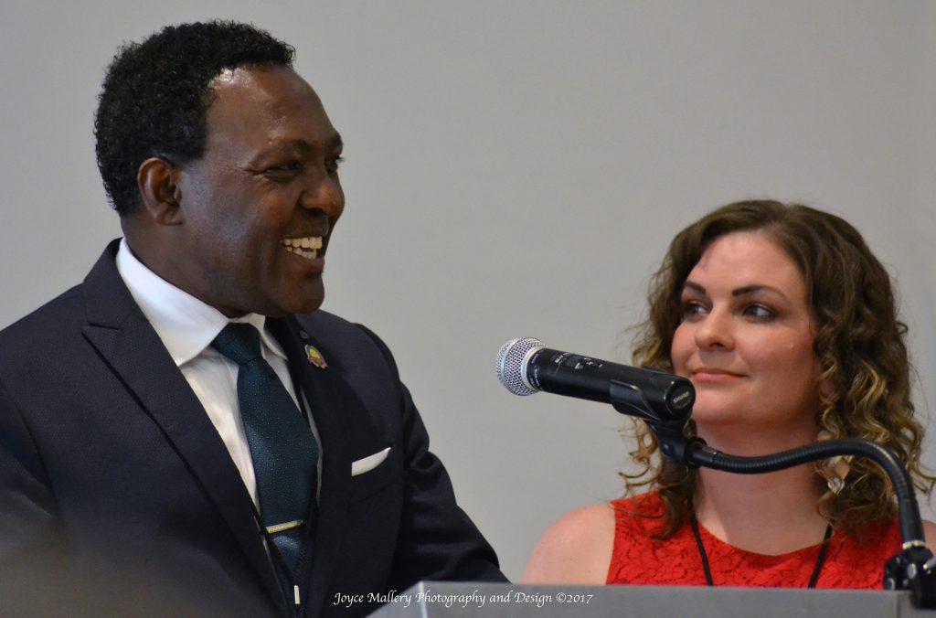 Dr. Charles Karuku and Pastor Lindsey Karuku