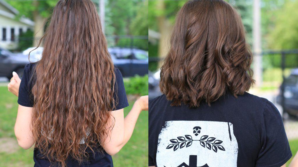 Rachel Marzahn hair donation