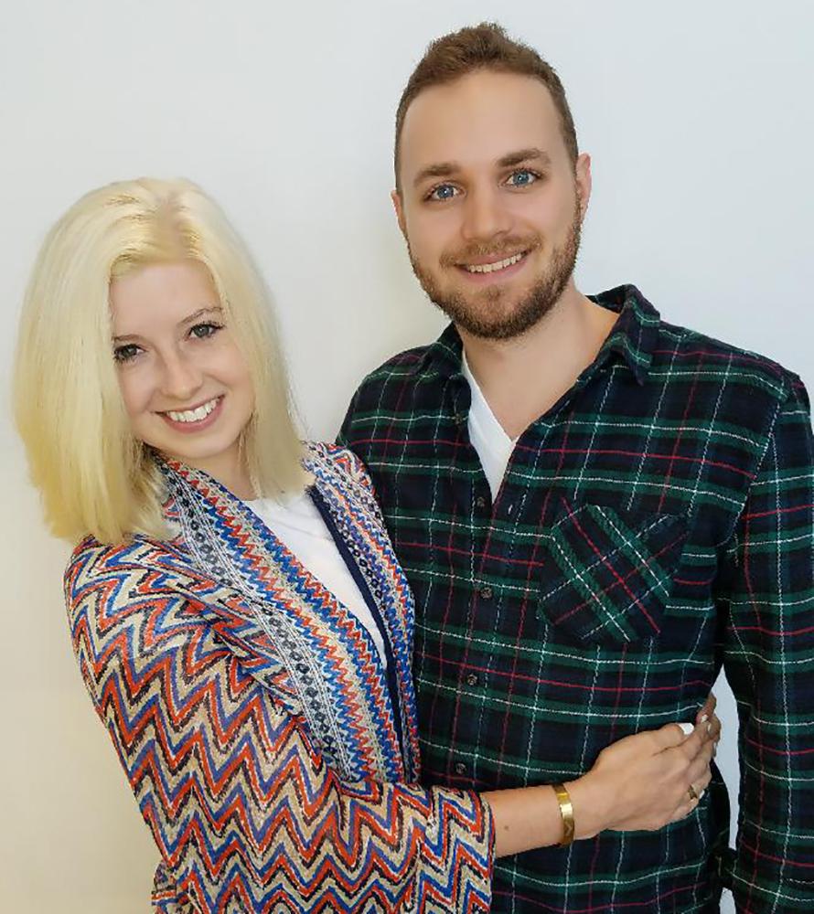 Rachel and Aaron as of June 26, 2017