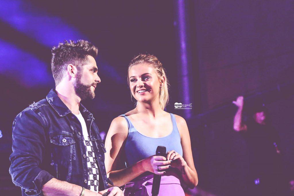 Thomas Rhett and Kelsea Ballerini at CMA Fest 2017