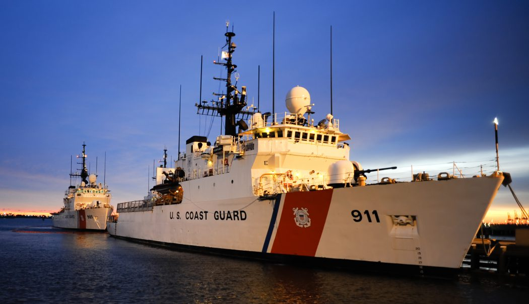 USCGC Forward (WMEC-911) moored at Base Support Unit Portsmouth