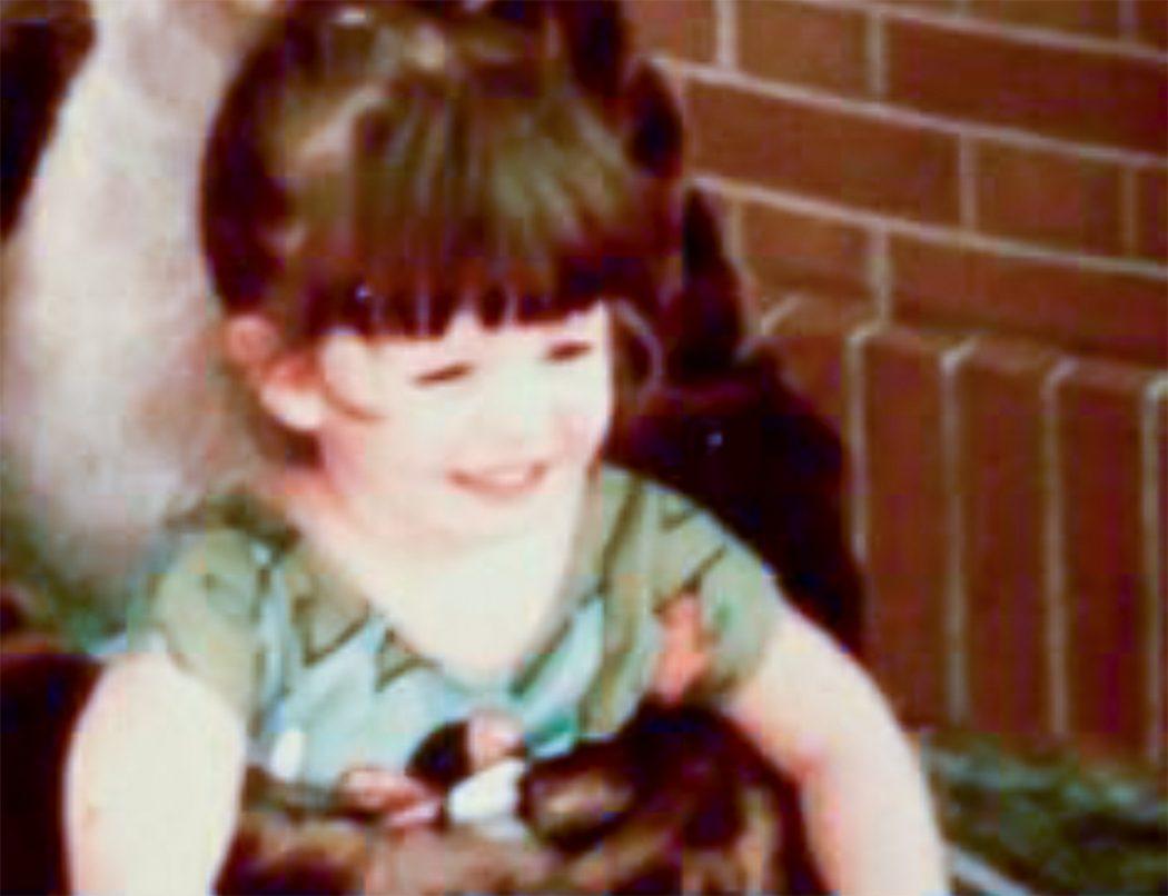 Nicole at age 3