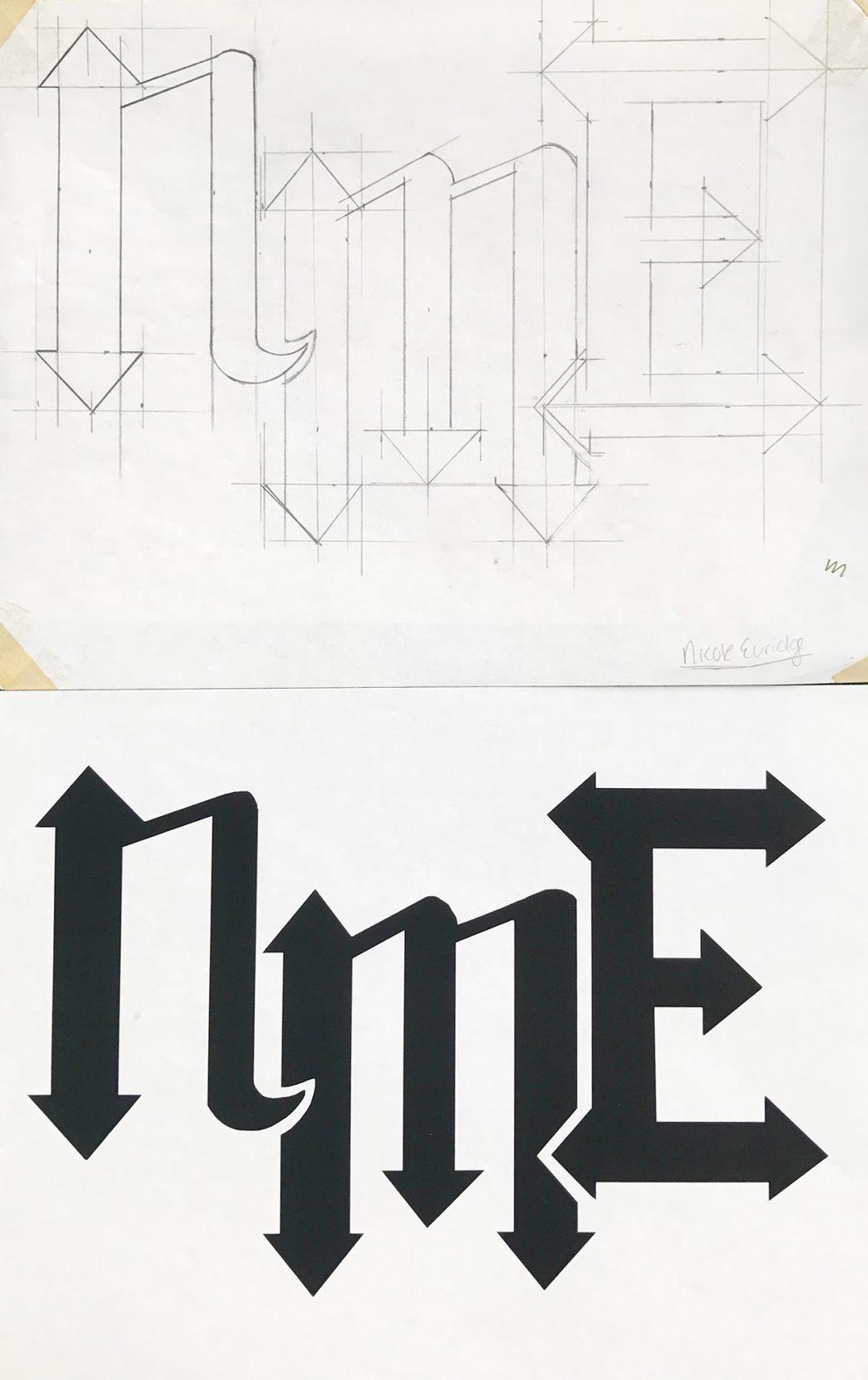 Initials design