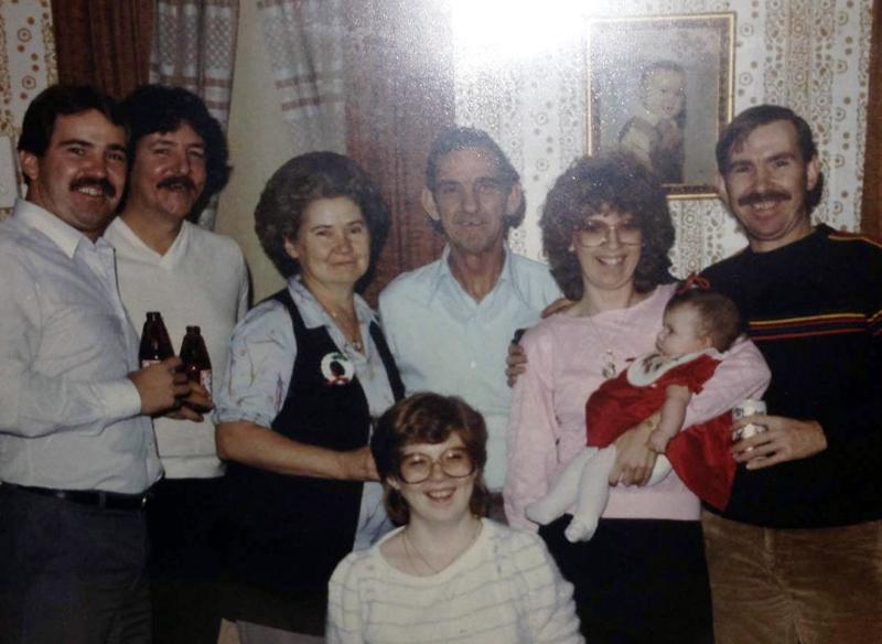 Nicole's whole family