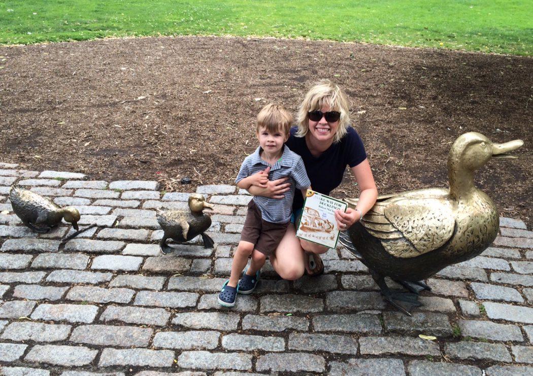 With Finn finding ducklings in Boston