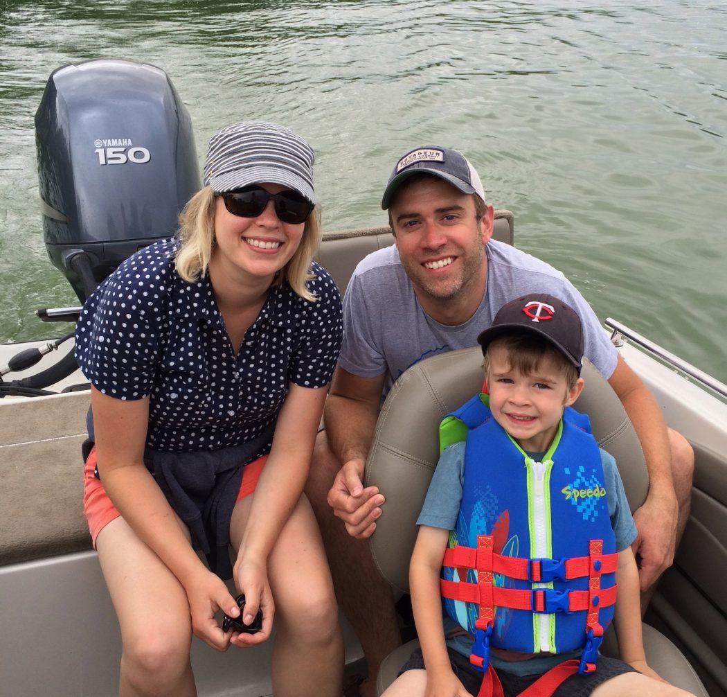 Summer boat ride