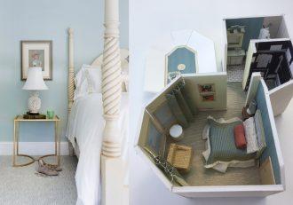 Fourth bedroom of Lake Minnetonka chateau