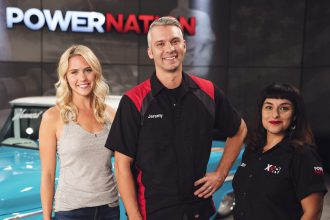 PowerNation host, Jeremy Weckman and Eliza Leon, XOR co-hosts