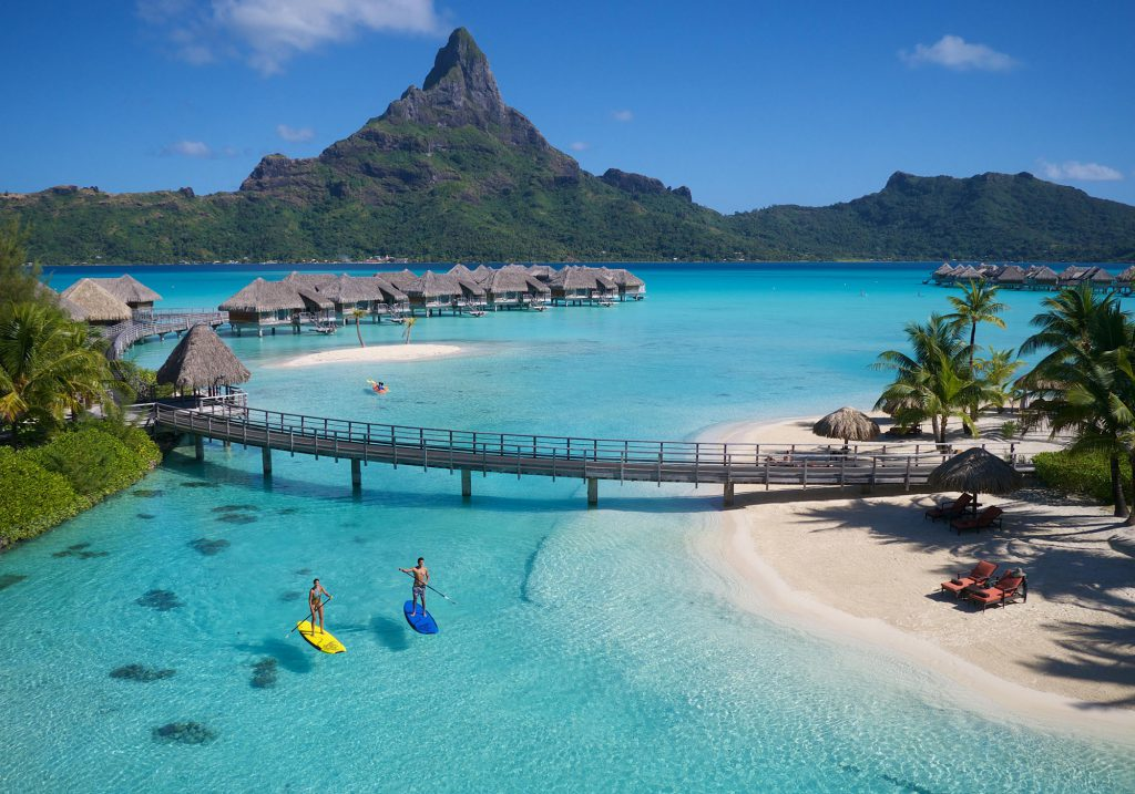 Just in case you are a billionaire, here's Bora Bora in December.