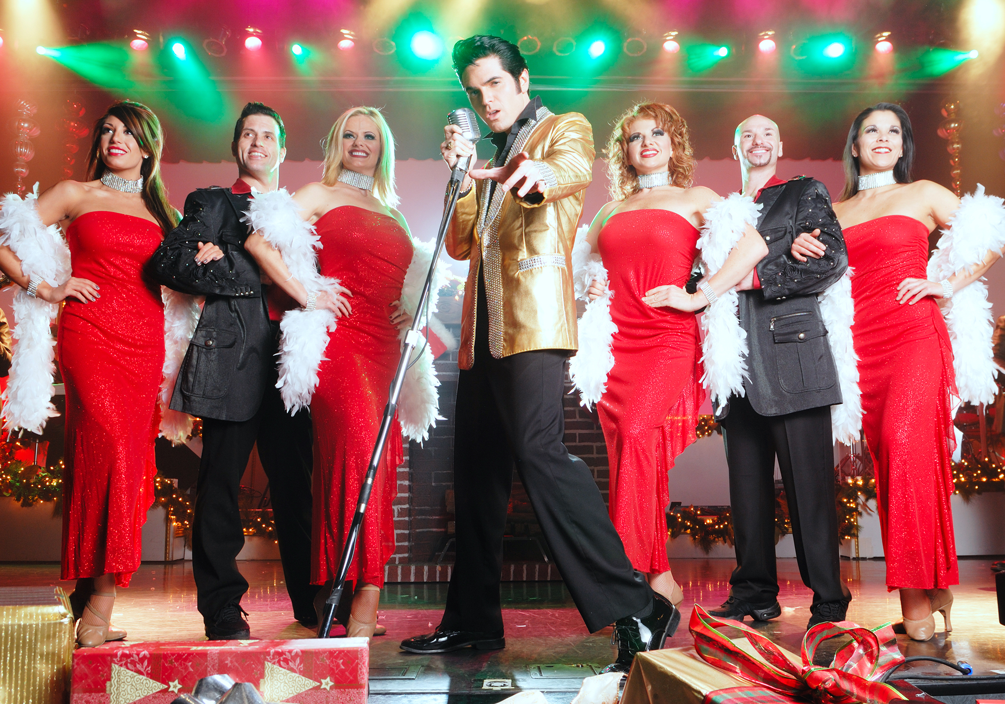 Christmas show in Branson, Missouri