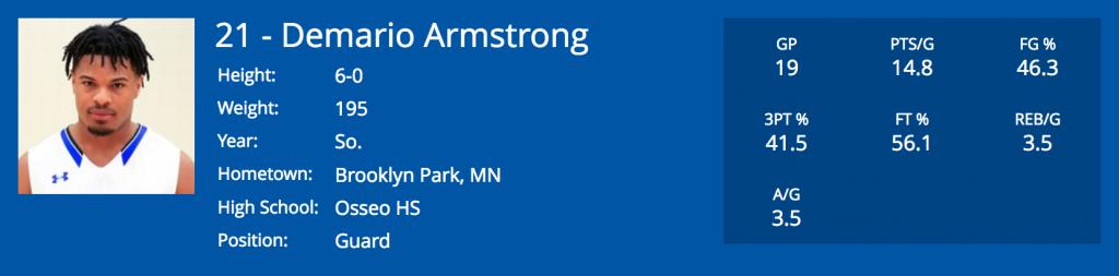 Demario Armstrong