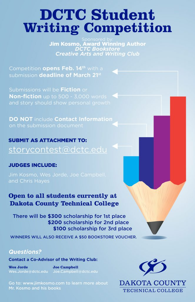 DCTC Student Writing Competition