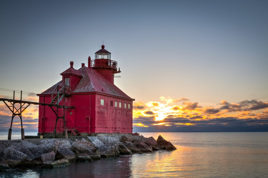 Big Red at Sunrise