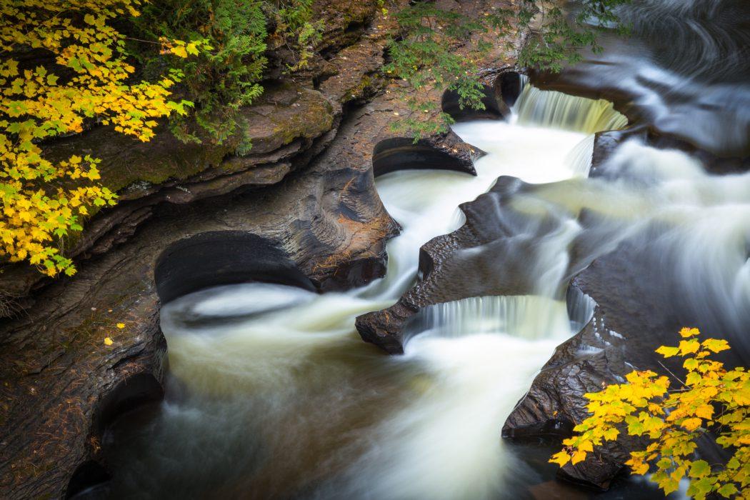 Presque Isle Pothole Falls