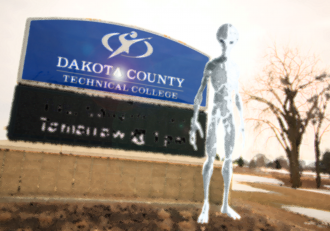 DCTC campus at 7:04 p.m. on March 18, 2018