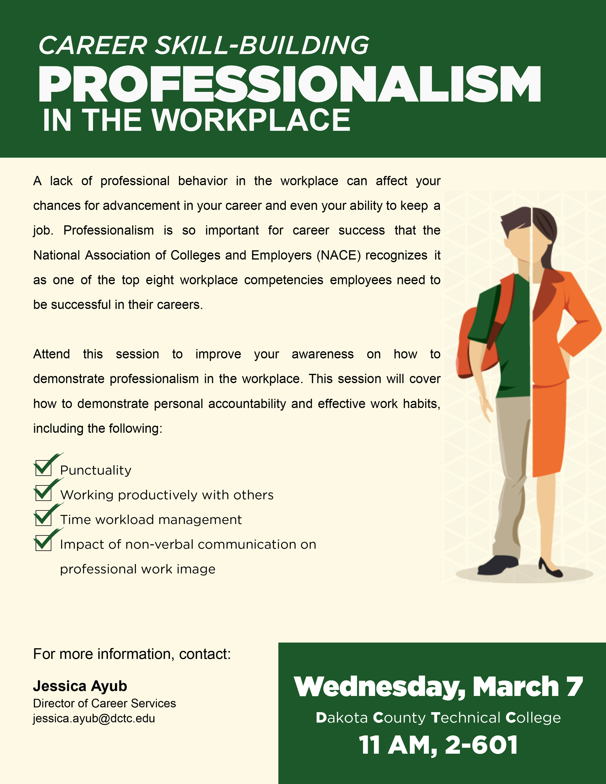 Professionalism In The Workplace 187 Dctc News