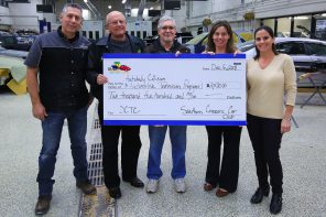 Southern Cruzers Donate $2,500 to DCTC