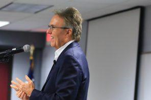 Alumnus Tony Werner Visits DCTC