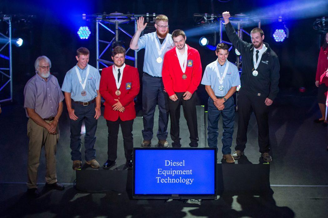 (second from right) Gabe Krebs at 2019 NLSC