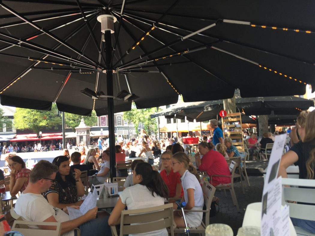Lunch at the center of Enschede