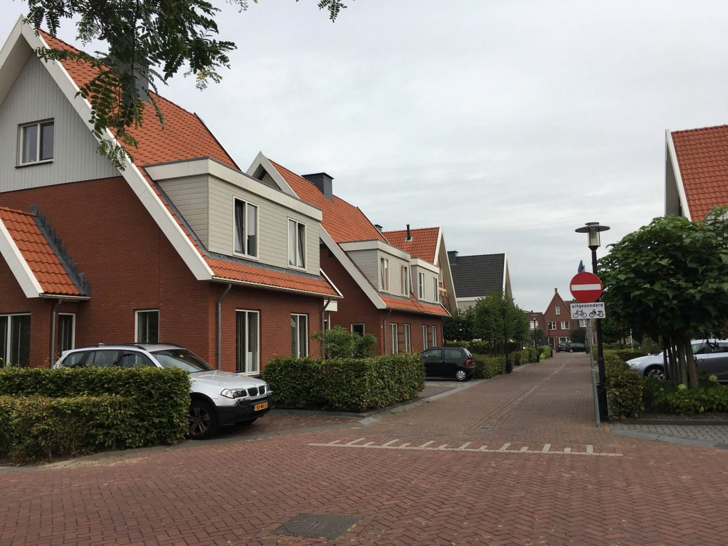 Typical street in Enschede