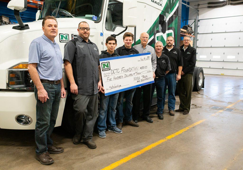 (left to right) Ken Klassen, Pete Szybatka, Ariel Pacheau, Jack Ulmen, Bob Nuss, Ed White, Brent Newville,