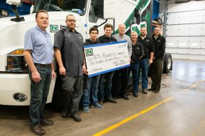 Nuss Truck & Equipment Supports HDTT