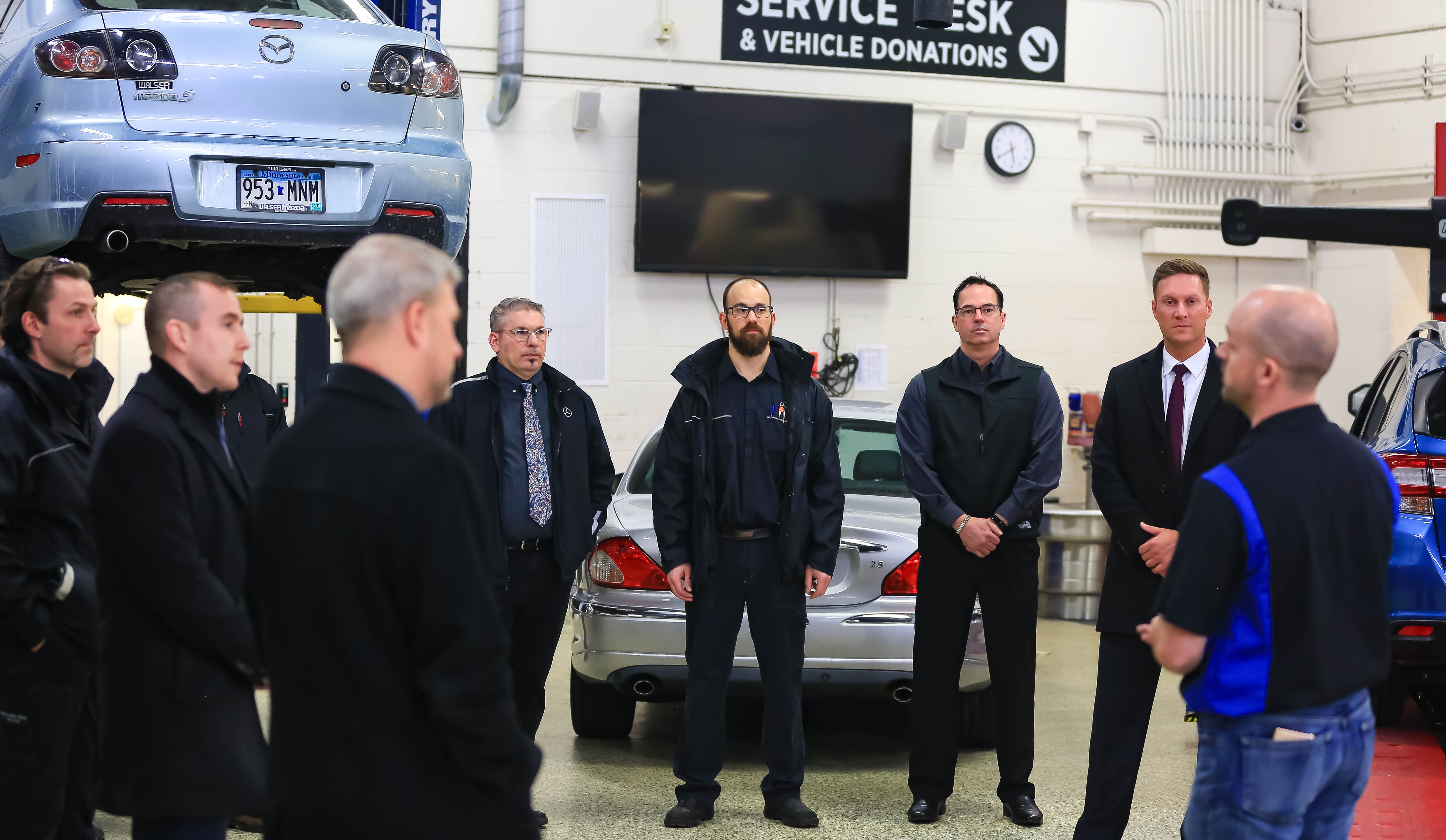 Automotive Technician Program Partnering with Mercedes-Benz-8