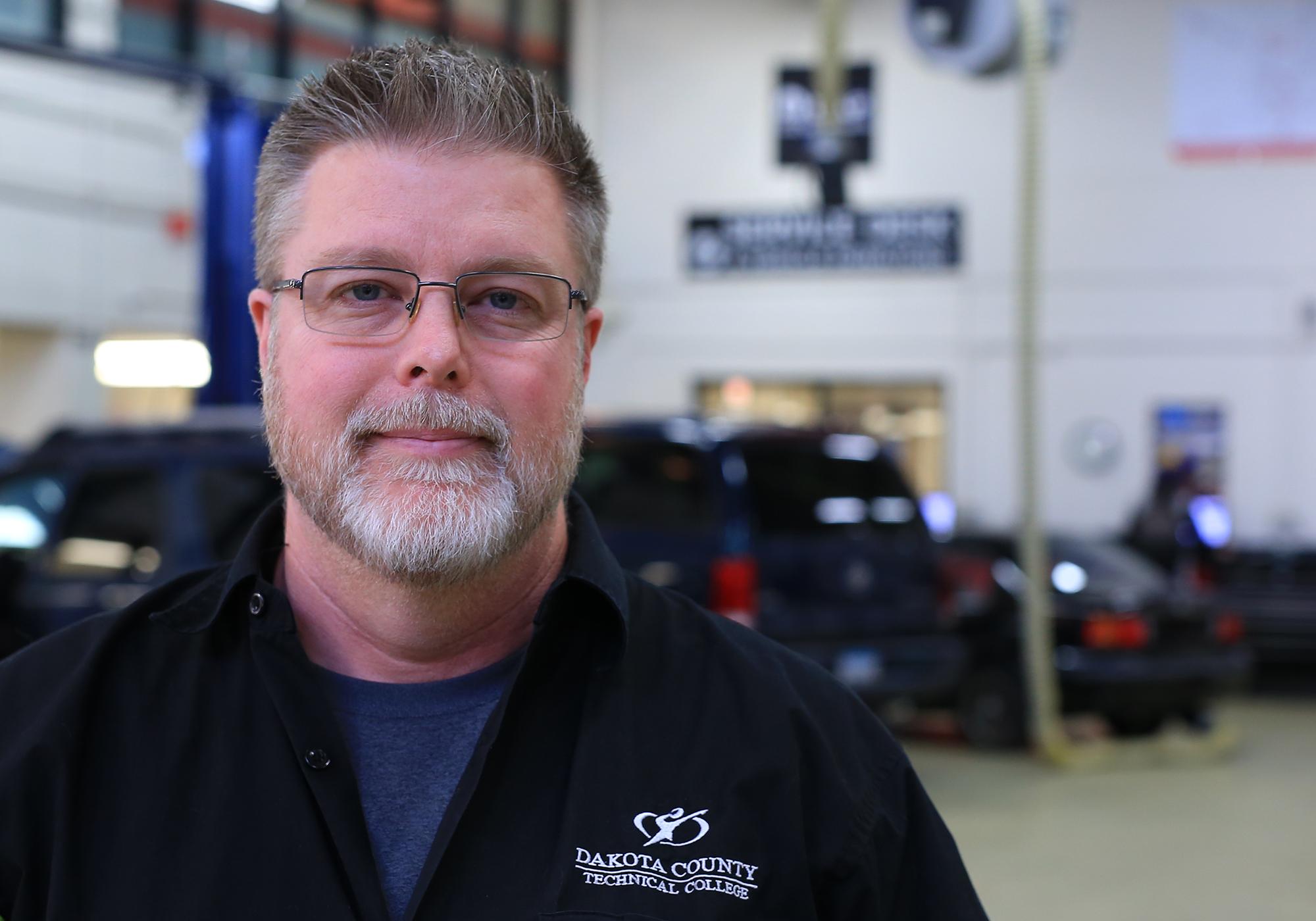 Jeff Copeland, Automotive Technician Faculty