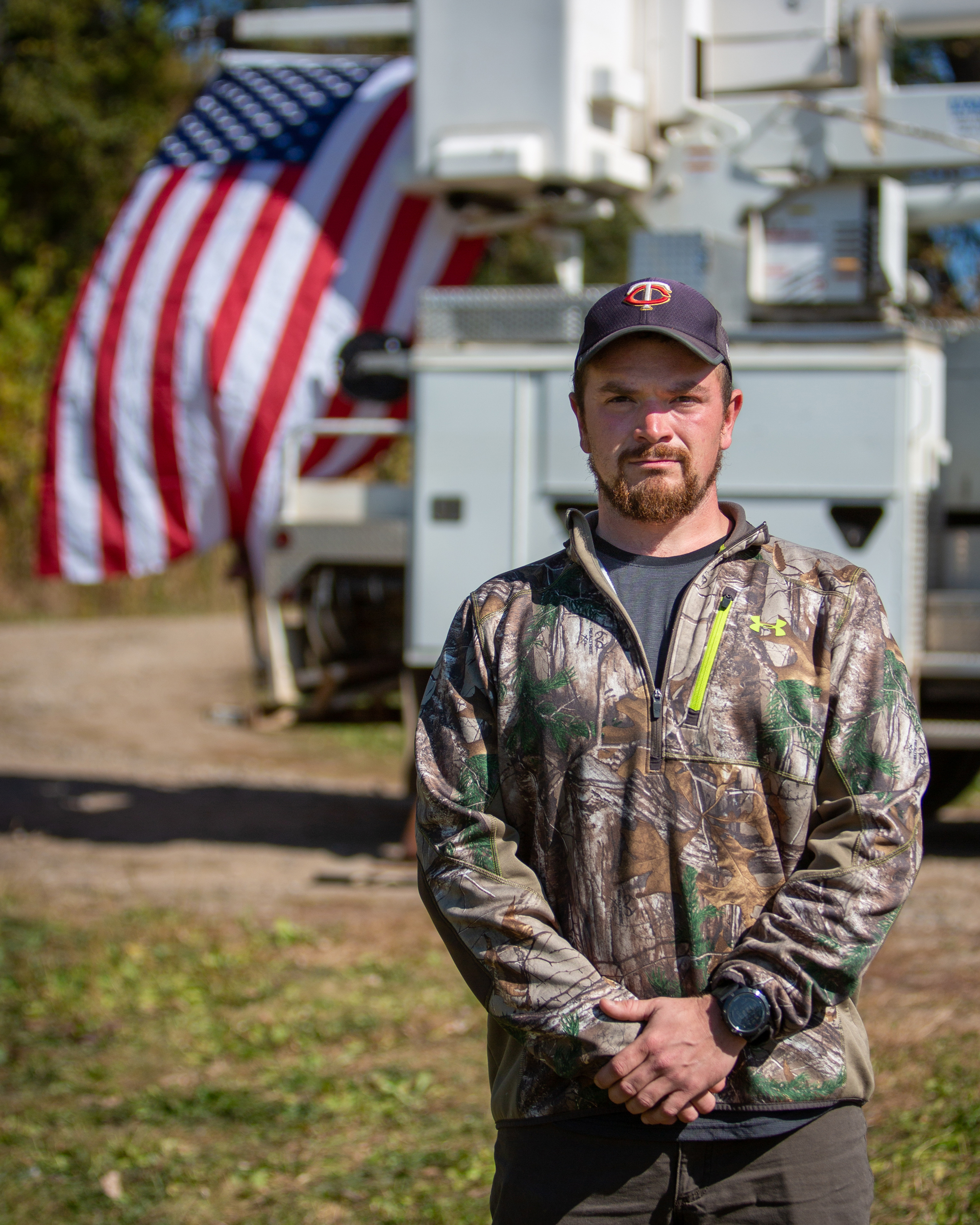 Austin Remer, U.S. Army veteran,  Electrical Construction & Maintenance Technology