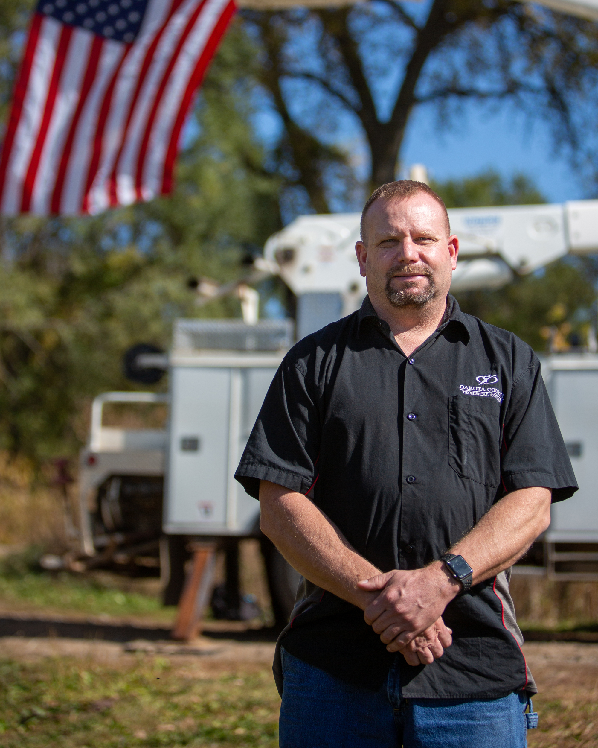 Scott Anderson, U.S. Air Force veteran, Automotive Technician Faculty
