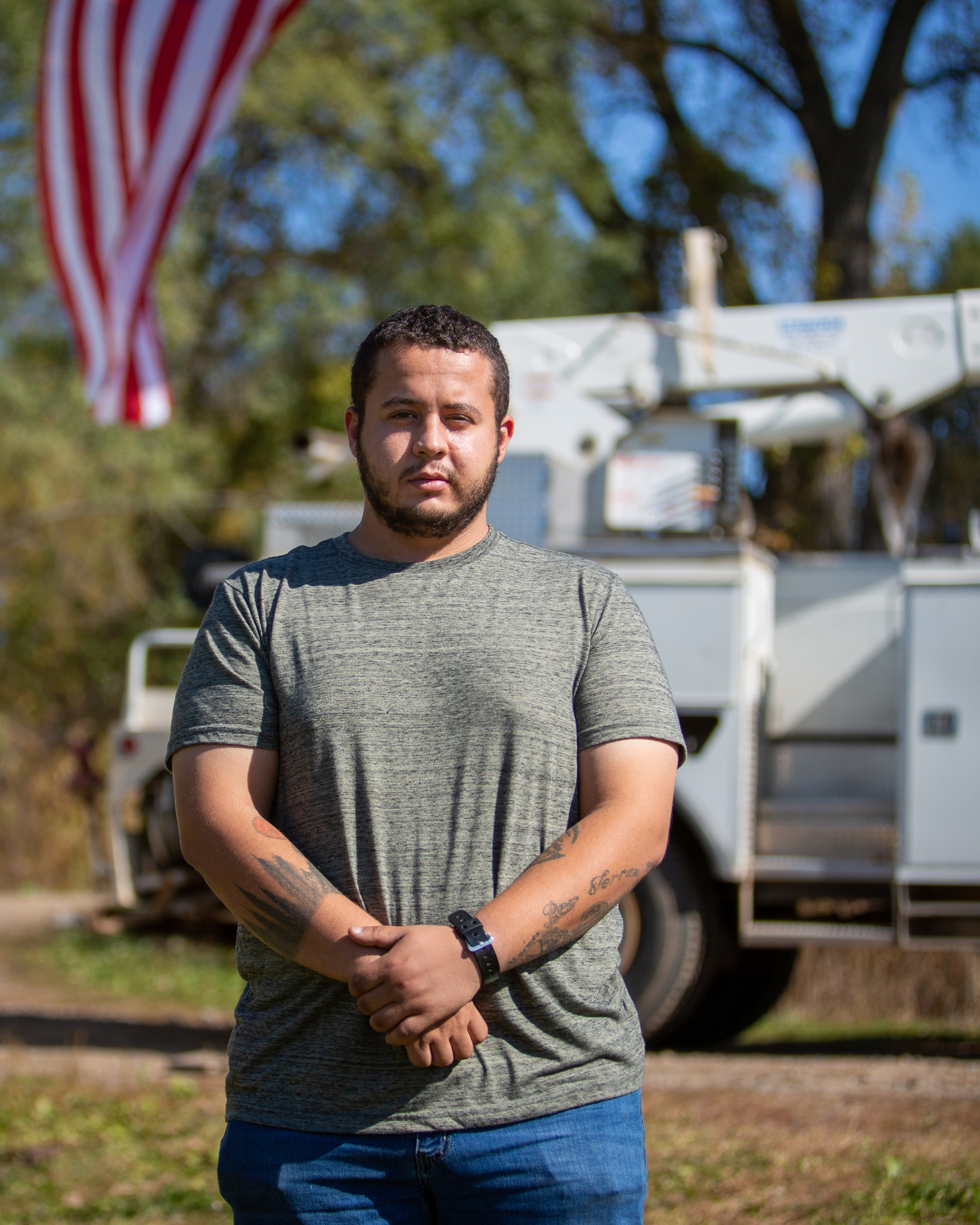 Yusuf Habib, U.S. military veteran, Automotive Technician