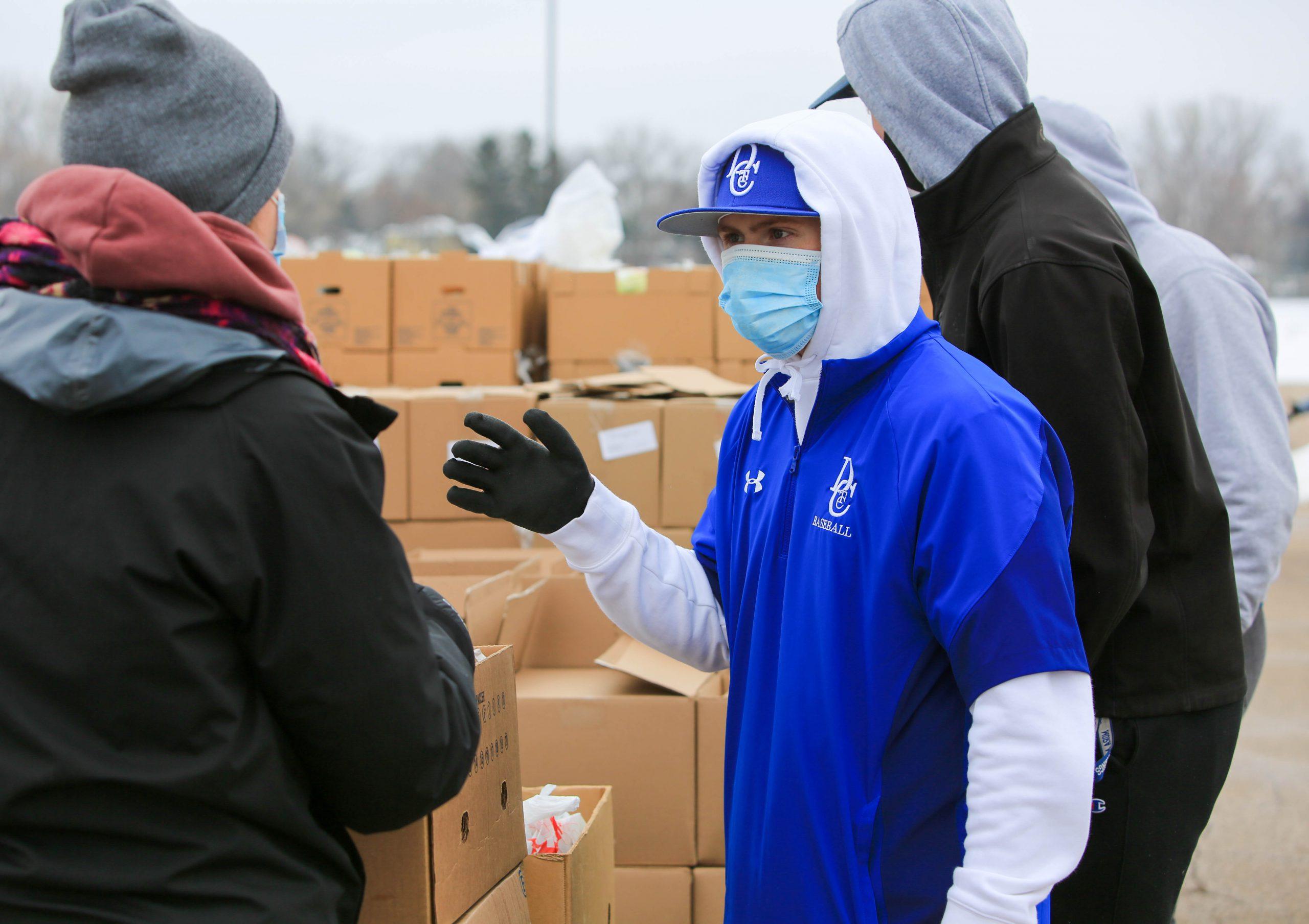 DCTC Baseball Volunteers at The Open Door