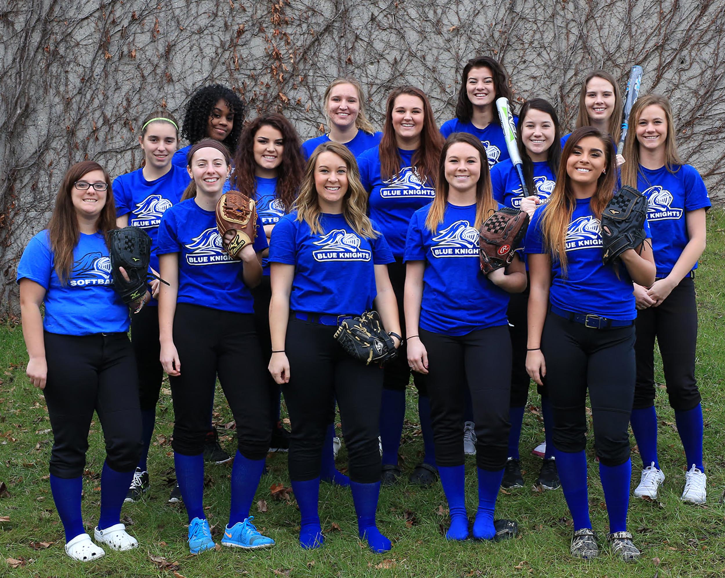 Blue Knights softball team (2014–2015)