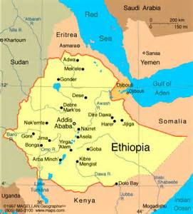 ethipia map