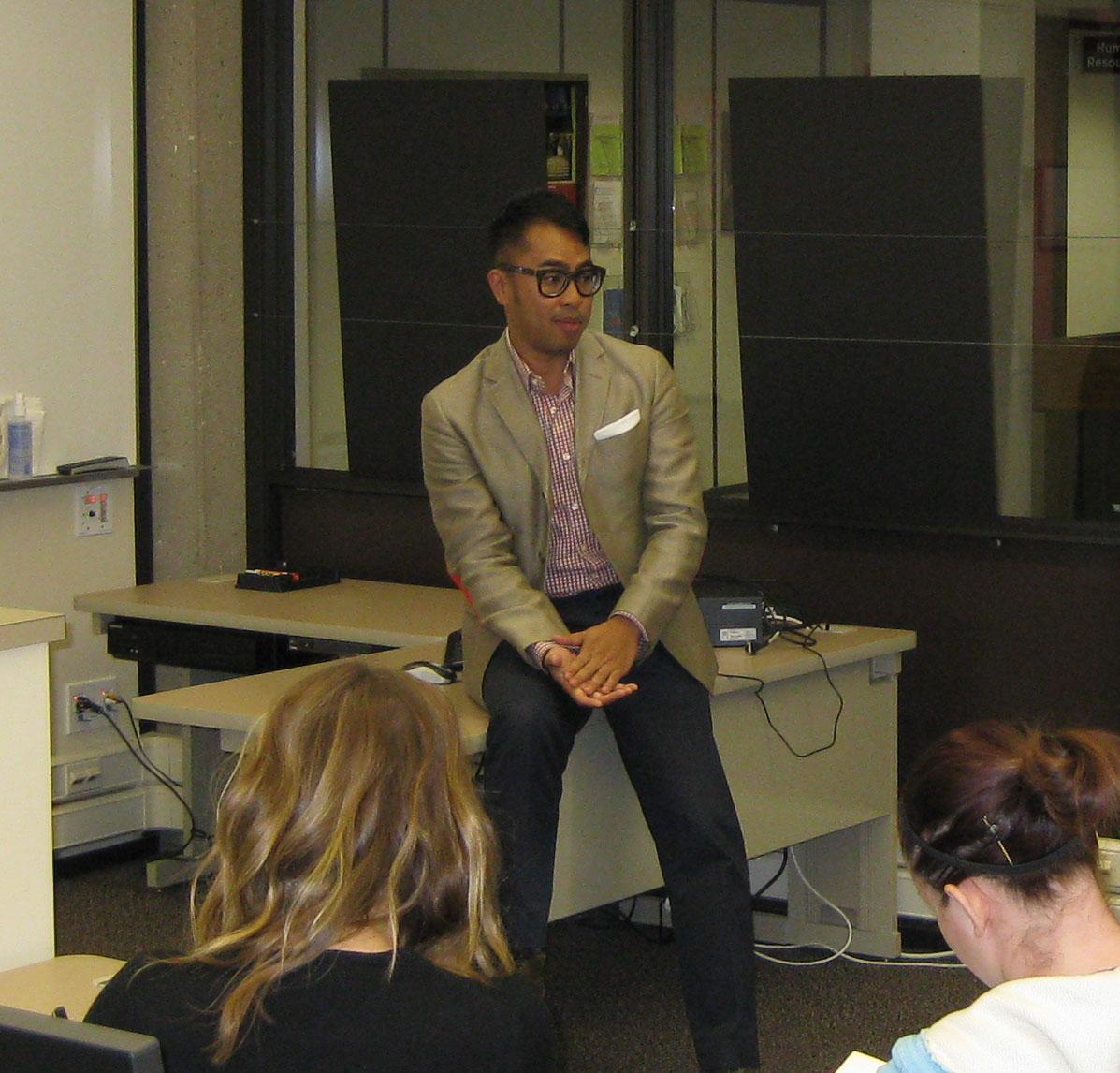 Reggie Reyes, Guest Speaker