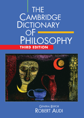 B41 Cambridge Dictionary of Philosophy