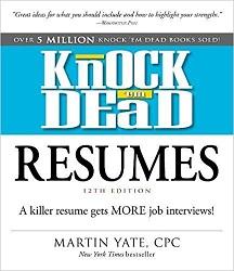 HF5383 Knock 'em Dead Resumes