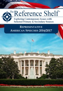 Representative American Speeches 2016-2017