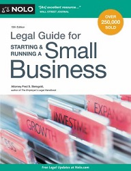 KF1659 Legal Guide for Starting & Running a Small Business