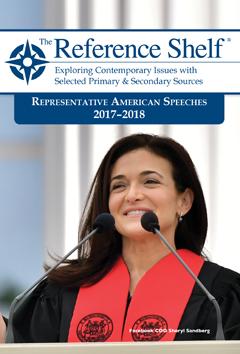Representative American Speeches 2017-2018