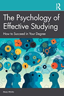 book cover of psychology of effective studying