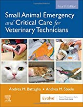 cover image of small animal emergency and critical care for veterinary technicians