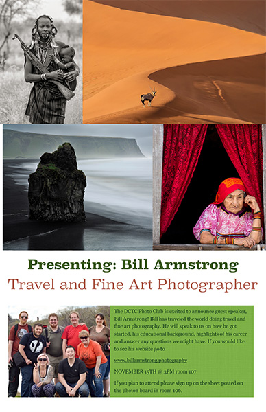 Bill Armstrong poster