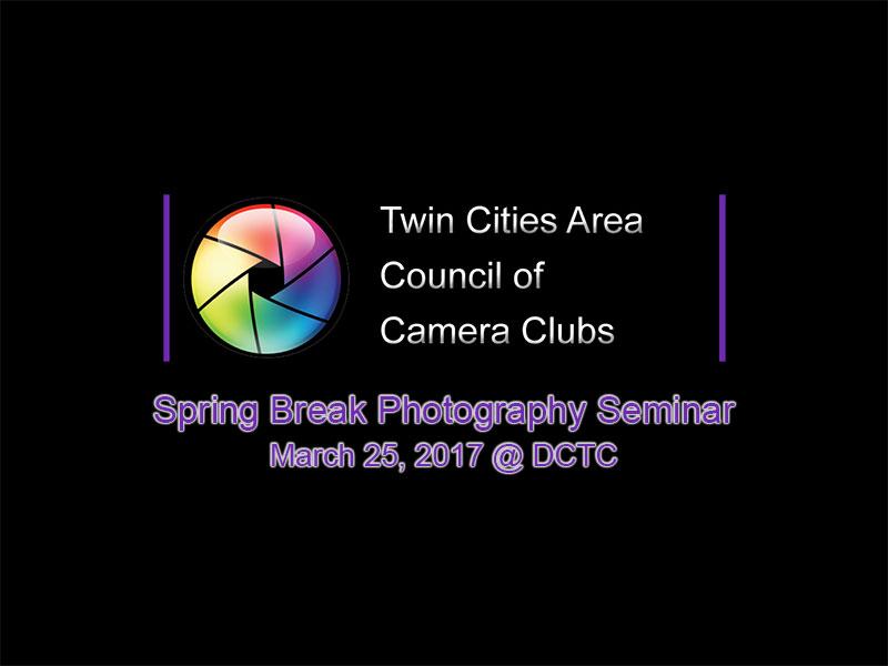 Spring Break 2017 Photography Seminar