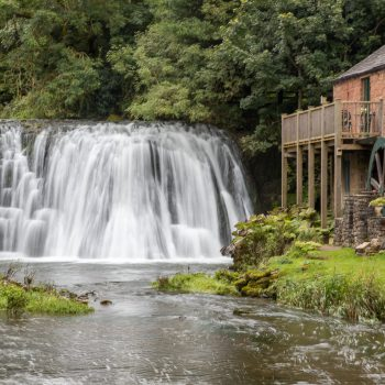 The Mill at Rutter Falls, Lake District, Cumbria, England
