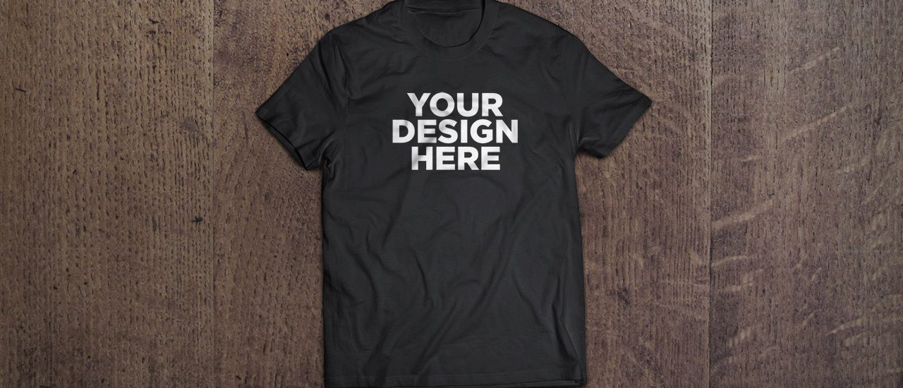 T-shirt MockUp Banner